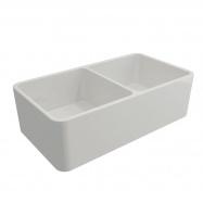 Novi 85 x 46 Fine Fireclay Gloss White Butler Sink