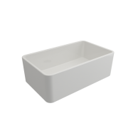 Novi 75 x 46 Fine Fireclay Gloss White Butler Sink - Flat on Both Sides, Limited Edition