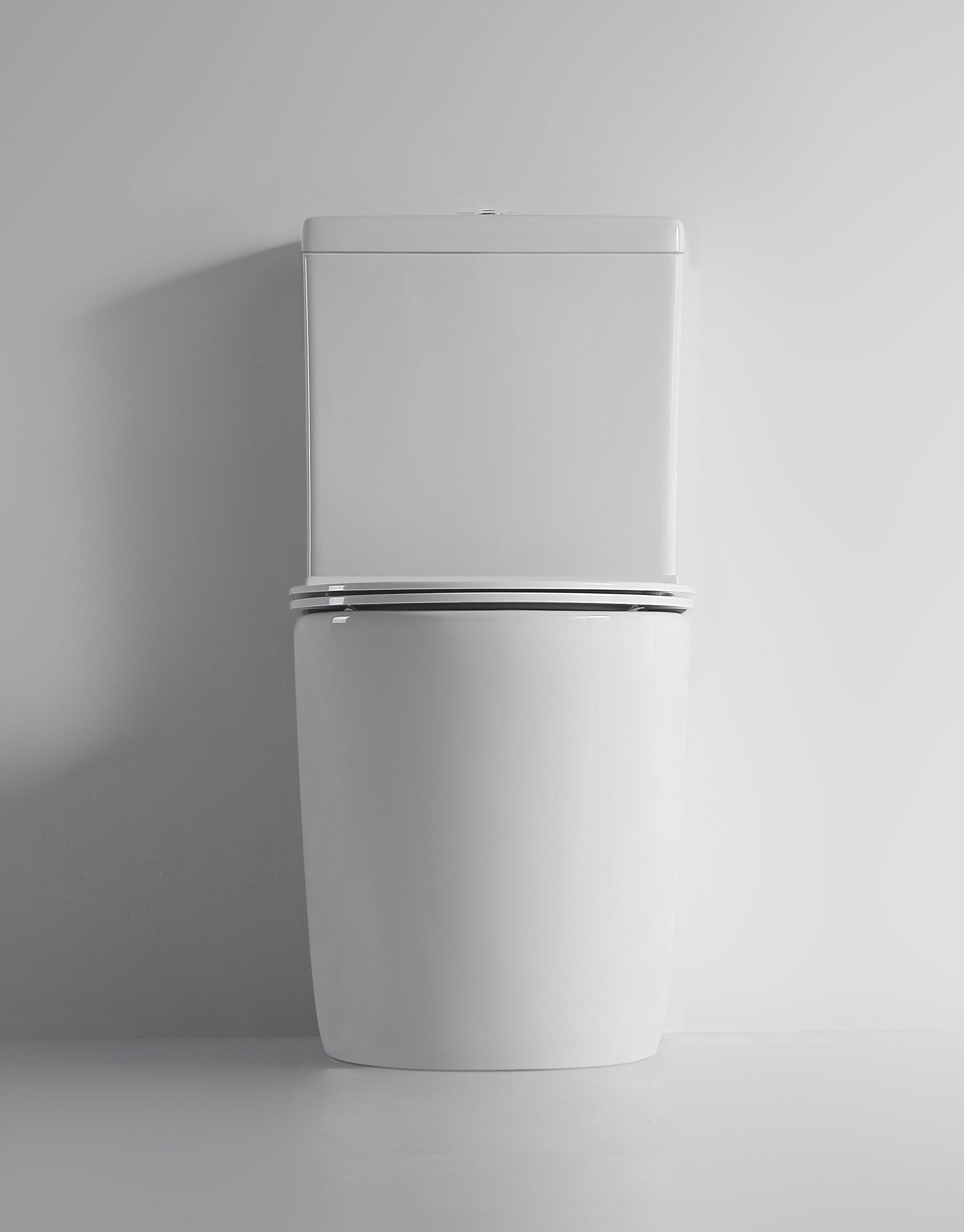 Ticino Rimless Close Coupled Back To Wall Toilet Suite