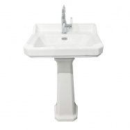 Arlington 60 x 47 Ceramic Wash Basin & Pedestal