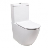 Belmont Close Coupled Back to Wall Toilet Suite with Soft Close Quick Release Seat