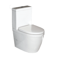 Carlo Compact Close Coupled Back to Wall Short Projection Toilet Suite with Soft Close Quick Release Seat