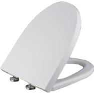 Kirkham Quick Release Soft  Closing Duroplast Seat to suit Grange & Marshall Toilets