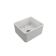 Novi 50 x 46 Fine Fireclay Butler Sink - Flat on Both Sides, Limited Edition