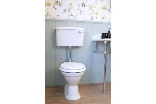 Birmingham Toilet with Low Level Cistern