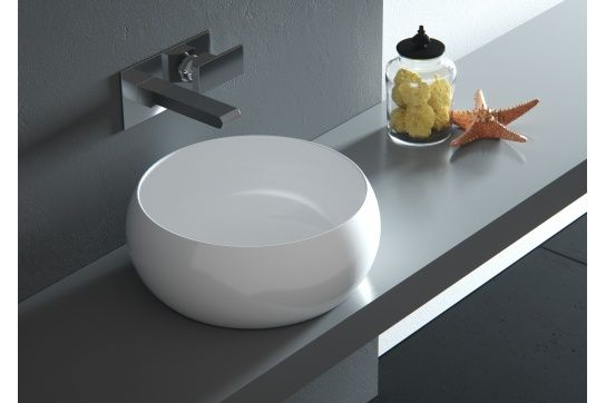 Pompeii 39 x 39 Counter Top Fine Fireclay Wash Basin