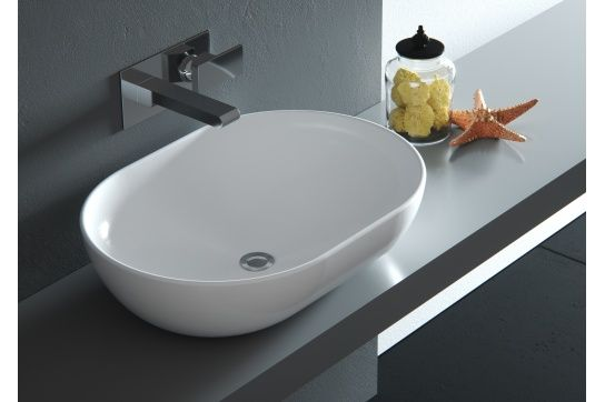 Pompeii 58 x 42 Counter Top Fine Fireclay Wash Basin